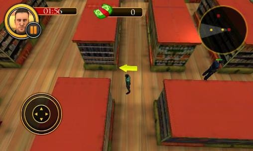 Supermarket Escape Dash Android Game Image 1
