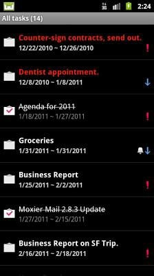 Moxier Mail Android Application Image 2