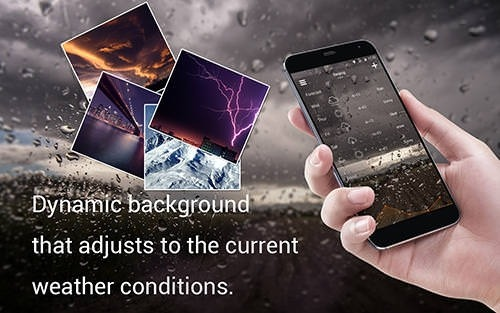 Solo Weather Android Application Image 1