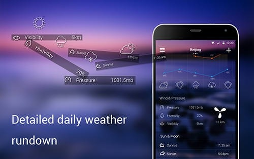 Solo Weather Android Application Image 2