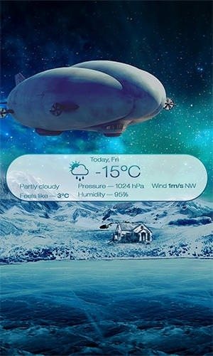 Beautiful Seasons Weather Android Application Image 2