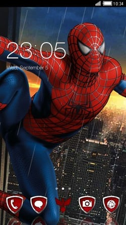Spiderman CLauncher Android Theme Image 1
