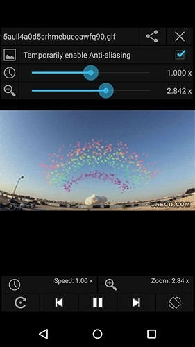 Gif Player Android Application Image 1