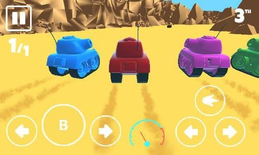 War Tank Racer Android Game Image 1