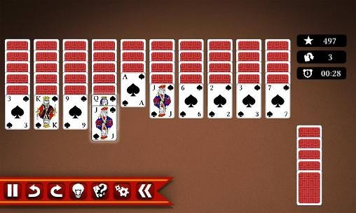 Spider Solitaire 2 Android Game Image 2
