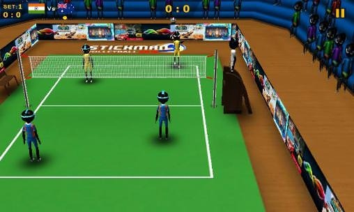 Stickman Volleyball 2016 Android Game Image 2