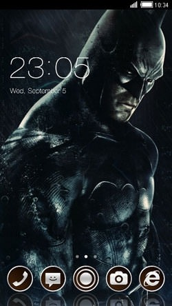 Batman CLauncher Android Theme Image 1