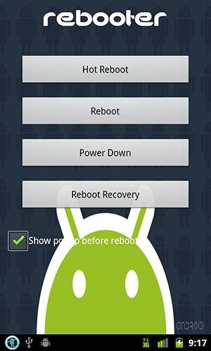 Rebooter Android Application Image 1
