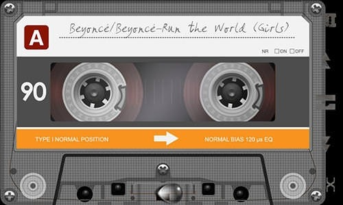 Retro Tape Deck Music Player Android Application Image 1