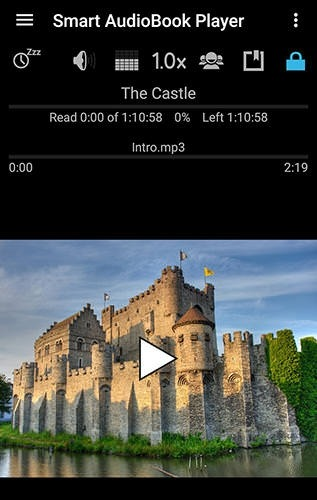 Smart AudioBook Player Android Application Image 1