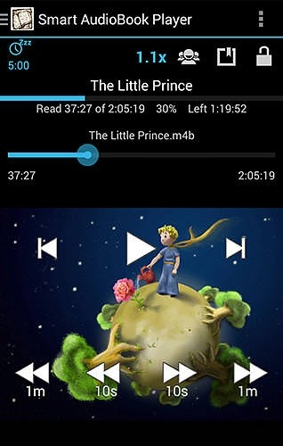 Smart AudioBook Player Android Application Image 2