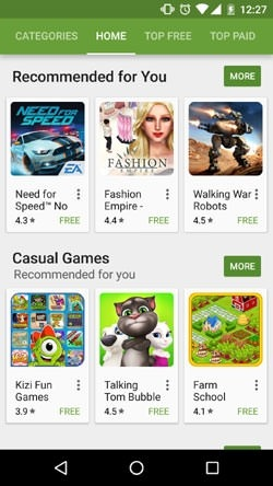 Google Play Store Android Application Image 2