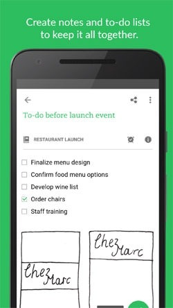 Evernote Android Application Image 1