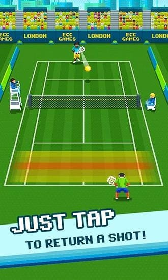Download Free One Tap Tennis Android Mobile Phone Game