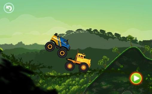 Jungle Monster Truck For Kids Android Game Image 1
