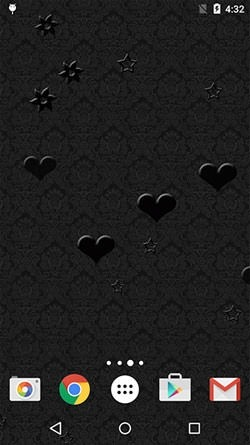Black Patterns Android Wallpaper Image 1
