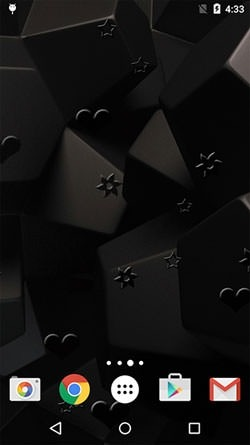 Black Patterns Android Wallpaper Image 2