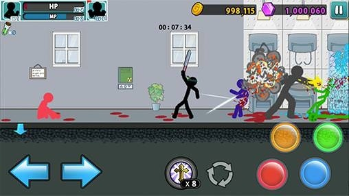 Anger Of Stick 5 Android Game Image 1