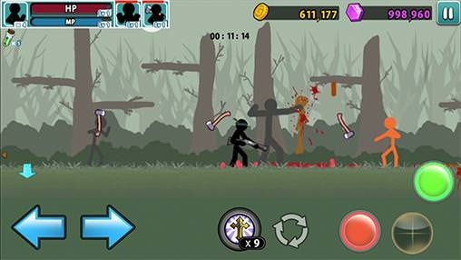 Anger Of Stick 5 Android Game Image 2