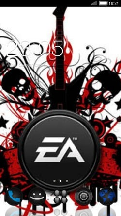 EA Logo CLauncher Android Theme Image 1