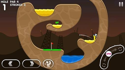 Super Stickman Golf 3 Android Game Image 2