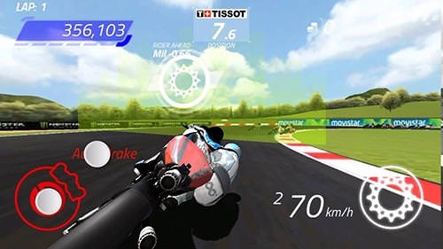Download Free MotoGP Race Championship Quest Android Mobile Phone Game - 7547 - MobileSMSPK.net