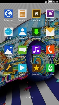 Car CLauncher Android Theme Image 2