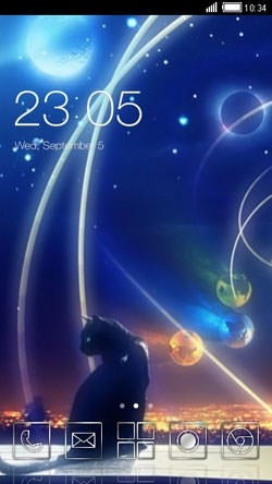 Cat CLauncher Android Theme Image 1