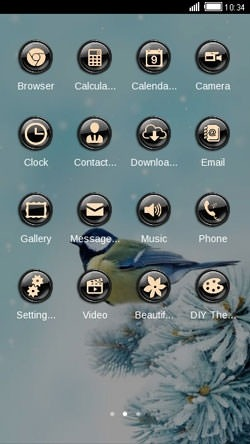 Bird CLauncher Android Theme Image 2