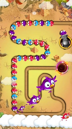 Bird Blast: Marble Legend Android Game Image 2