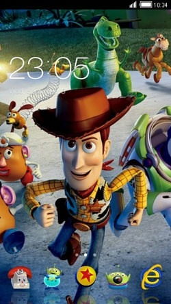 Toy Story CLauncher Android Theme Image 1