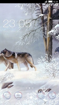 Wolf CLauncher Android Theme Image 1