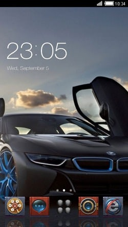 BMW CLauncher Android Theme Image 1