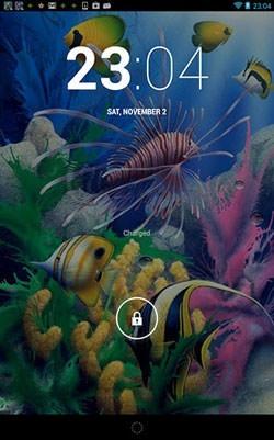 Aquarium 3D Android Wallpaper Image 2