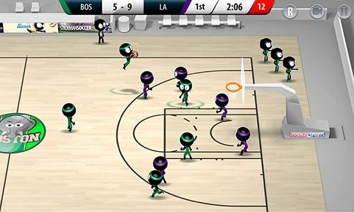 Stickman Basketball 2017 Android Game Image 1