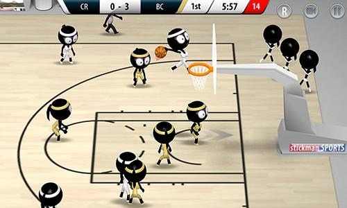 Stickman Basketball 2017 Android Game Image 2