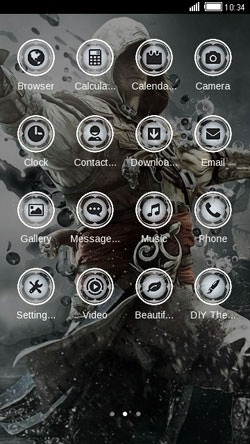 Assassin CLauncher Android Theme Image 2