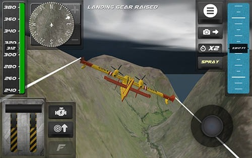 Download Free Android Game Airplane Firefighter Simulator