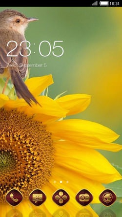 Bird CLauncher Android Theme Image 1