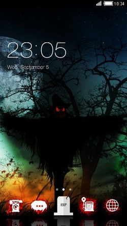 Halloween CLauncher Android Theme Image 1