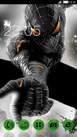 Spidey CLauncher Android Theme Image 1