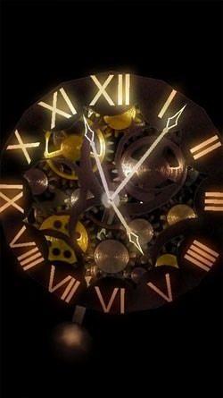 Clock Work Android Wallpaper Image 1