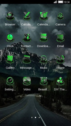 Mountain CLauncher Android Theme Image 2
