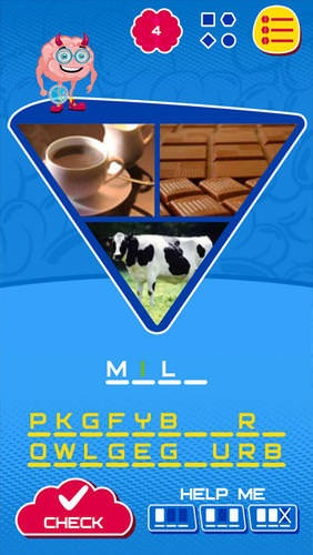 Megabrain: Guess Word Android Game Image 1