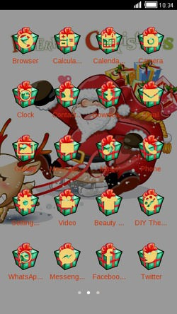 Santa CLauncher Android Theme Image 2