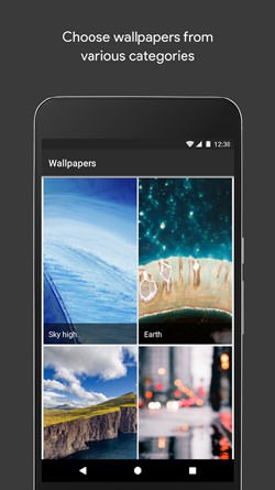 Wallpapers Android Application Image 1