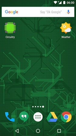 Circuitry Android Wallpaper Image 1