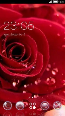 download free android theme red rose clauncher 1991 mobilesmspk net