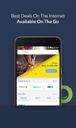 GrabOn - Coupons & Offers Android Mobile Phone Application Image 1