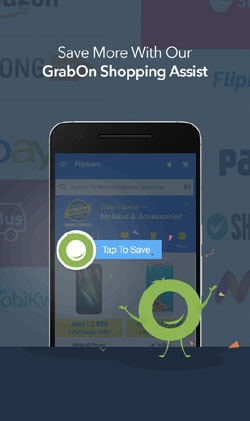 GrabOn - Coupons & Offers Android Mobile Phone Application Image 3